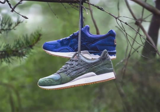"""SneakersNStuff's ASICS Gel-Lyte """"Forest Pack"""" Releases This Weekend"""