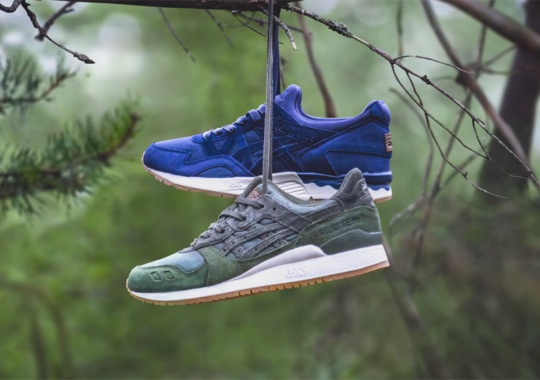 "SneakersNStuff's ASICS Gel-Lyte ""Forest Pack"" Releases This Weekend"