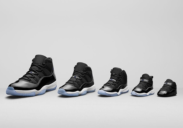 b7aecde0e64b The Space Jam 11 release is just days away and we already know that Jordan  Brand has created sizes to fit the entire family. From big-footers to those  who ...