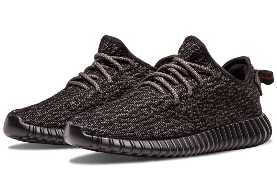 15. adidas Yeezy Boost 350 \u201cPirate Black\u201d (2016 Release)