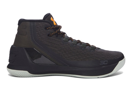 "The Under Armour Curry 3 Is Releasing In A ""Flight Jacket"" Colorway"