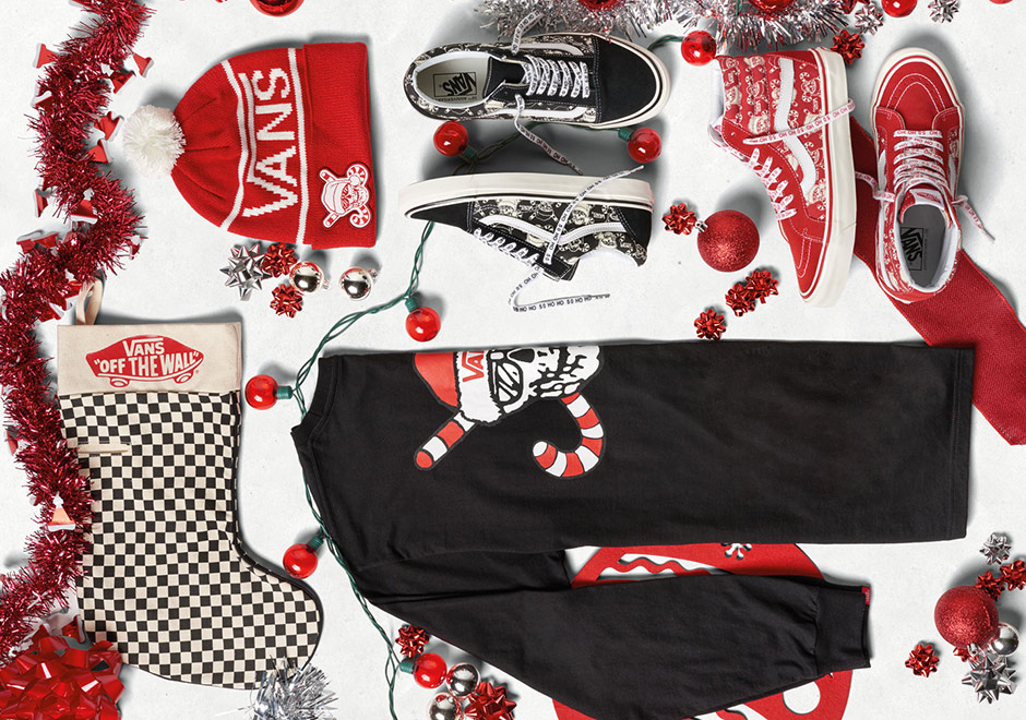 "Vans Gets You Ready For Christmas With New ""Santa Skull"" Collection 1ff3faba9"