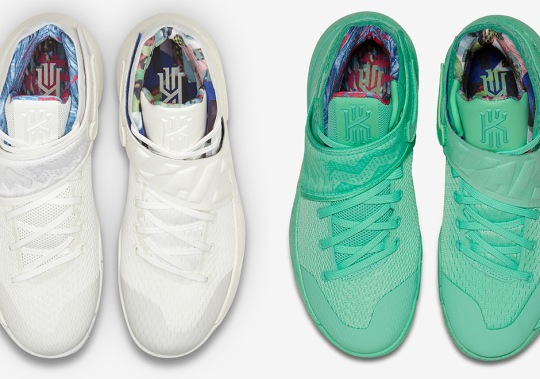 "There Are Two Different ""What The"" Kyrie 2 Colorways"