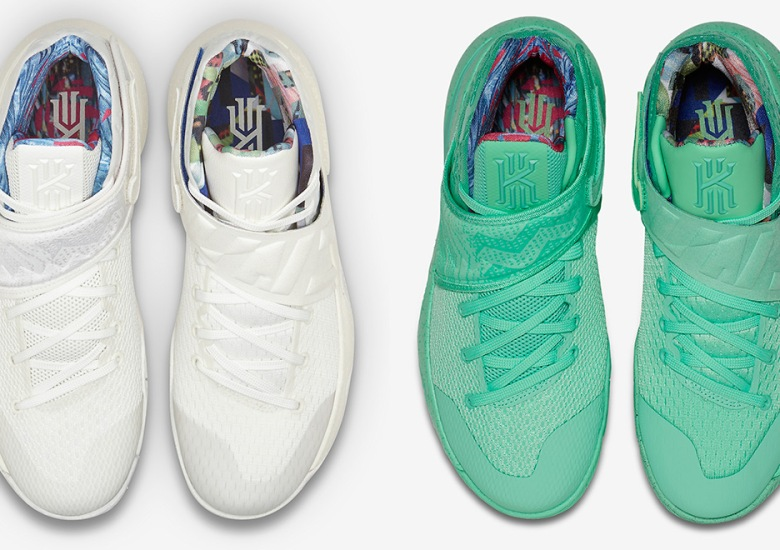 """sports shoes 38a80 d7949 There Are Two Different """"What The"""" Kyrie 2 Colorways"""
