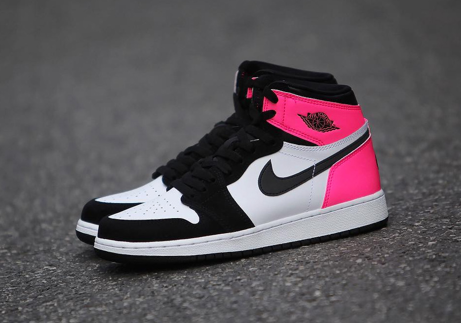 Air Jordan Black Pink Valentine Day