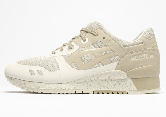 The ASICS GEL-Lyte III NS Gets a Sandy Tan Colorway