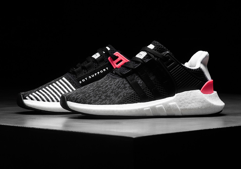 EQT Boost ( Black/ White ) Shoes for sale in KL City, Kuala Lumpur
