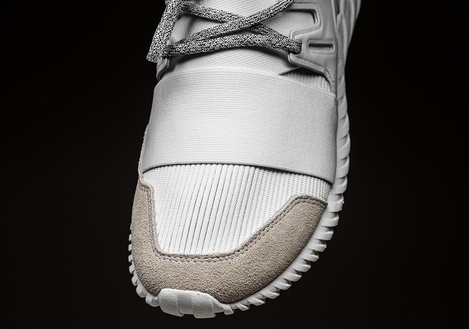 adidas Originals Tubular Radial in Light Grey/Vintage White