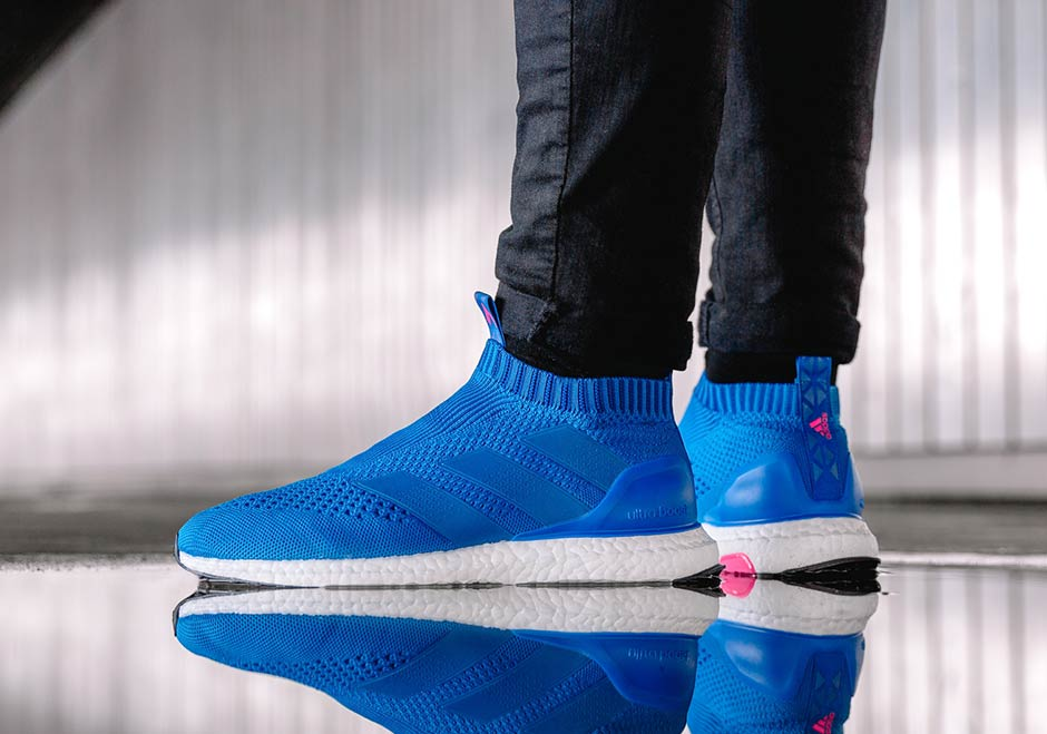 """68d6c5db5292 ... you re not guaranteed a pair if you stop by 565 5th Ave location. You  can check out more of the adidas ACE 16+ Ultra Boost """"Blue Blast"""" here."""