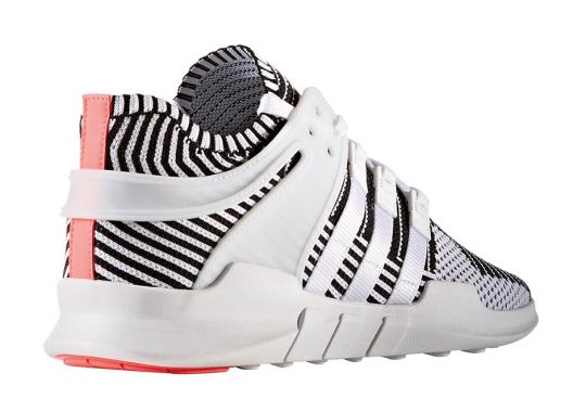 adidas Mixes White And Black Primeknit On The EQT ADV