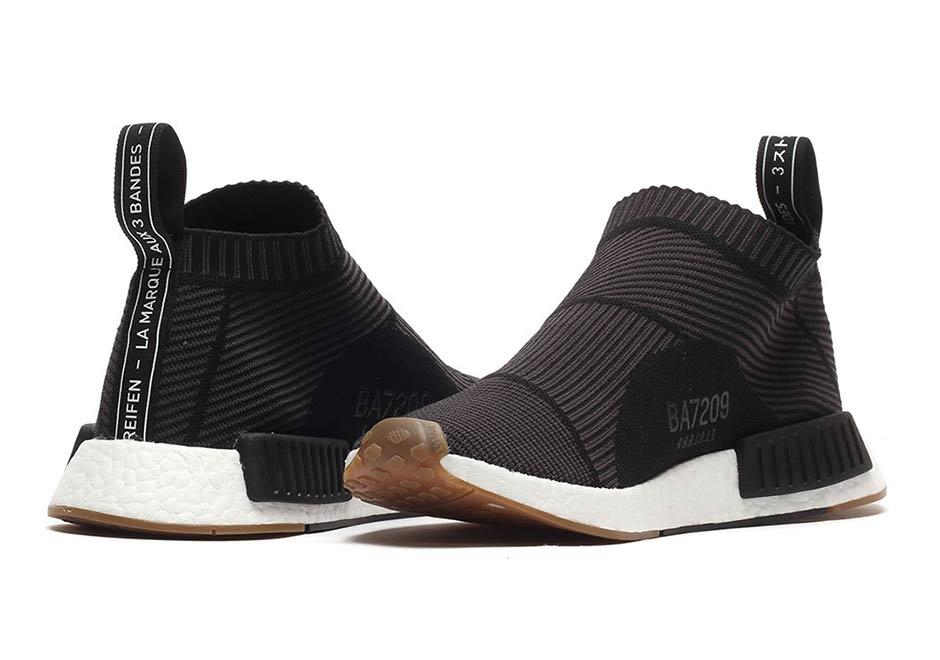 reputable site b8291 72d5e adidas NMD City Sock Black Gum Where To Buy   SneakerNews.com
