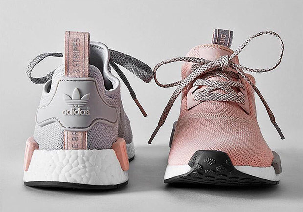 sneakers for cheap 74dd3 5baf6 adidas NMD R1 Grey Pink BY3059 BY3058 | SneakerNews.com