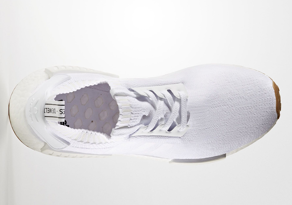 nmd white gum