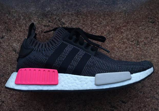 fyfhgo adidas NMD Women Black Pink BB2364 | SneakerNews.com