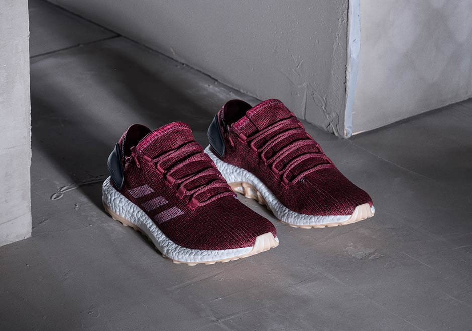 various colors f7489 60d85 adidas Pure Boost Burgundy Release Date | SneakerNews.com