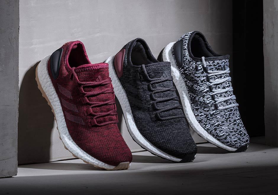 1c7f9434f71 adidas Pure Boost Burgundy Release Date