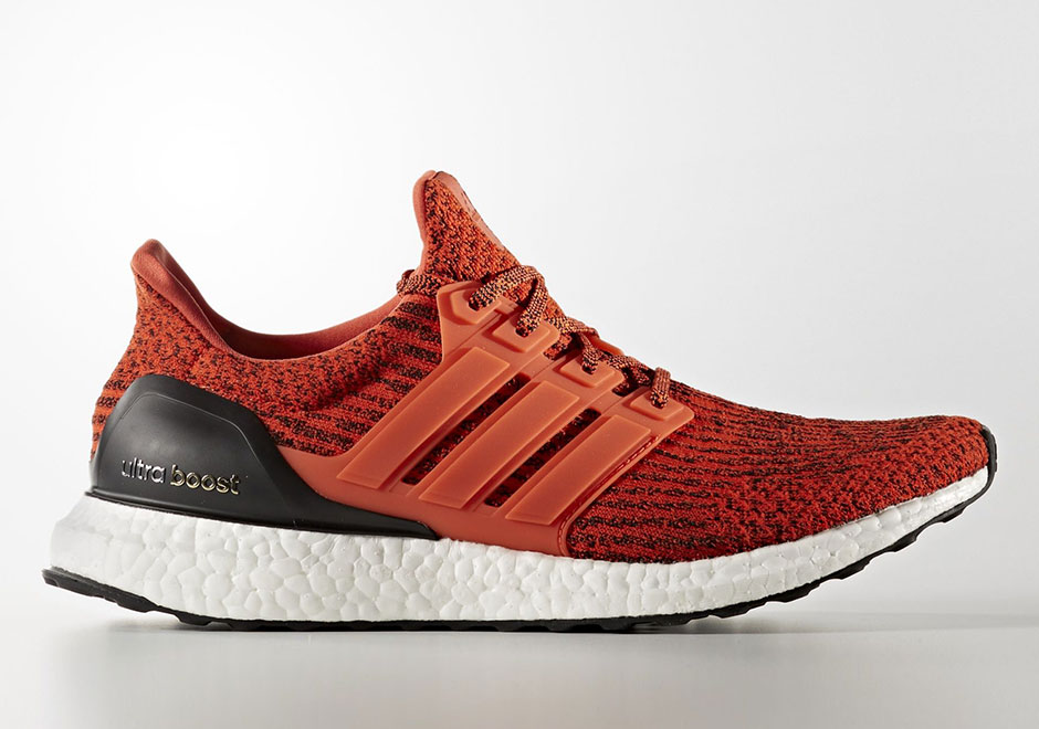 Adidas Ultra Boost Black And Orange