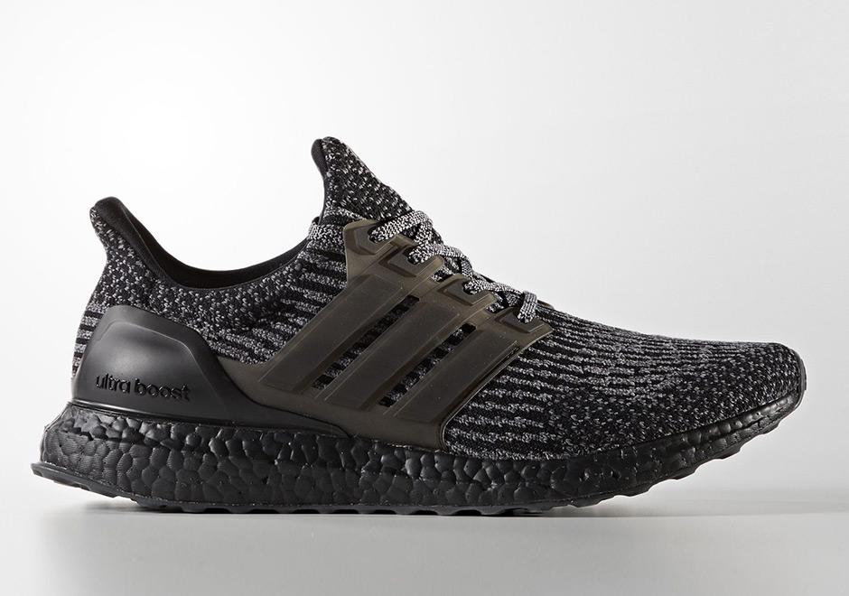 Adidas Ultra Boost 3 0 Triple Black Ba8923  Sneakernews Com