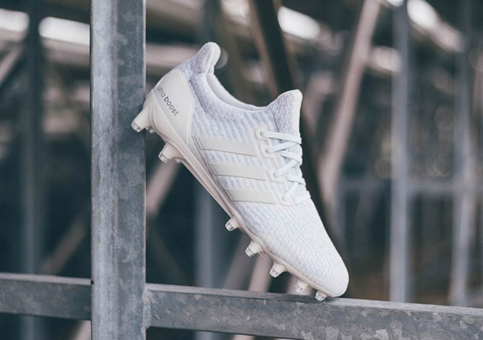 Adidas Ultra Boost Cleat Triple White Sneakernews Com