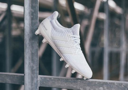 adidas Unveils Triple White Ultra Boost Cleats