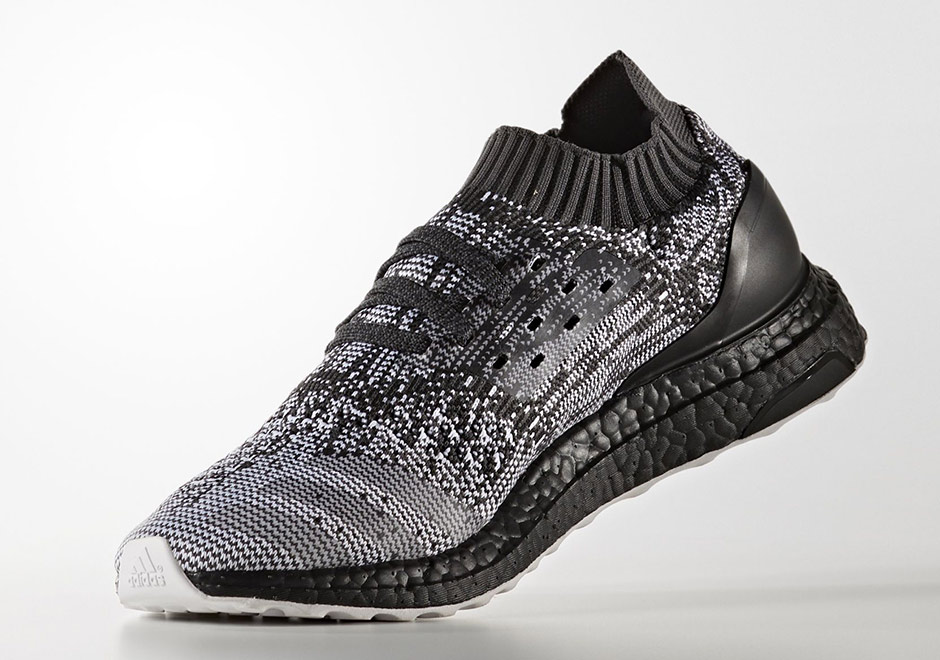 057e18eb45738 Black Boost And White Soles Combine On The adidas Ultra Boost Uncaged ...