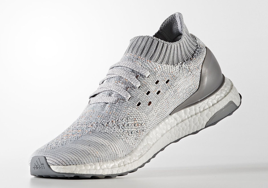 4788b833a5c0 adidas Ultra Boost Uncaged Releasing In Light Grey With Hints of Color In  The Primeknit