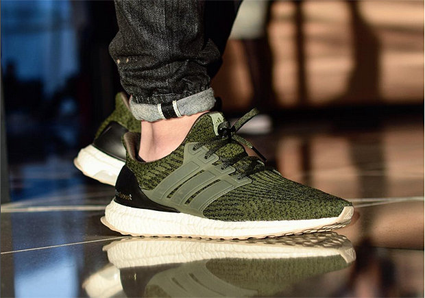 Adidas Ultra Boost Trace Cargo Olive