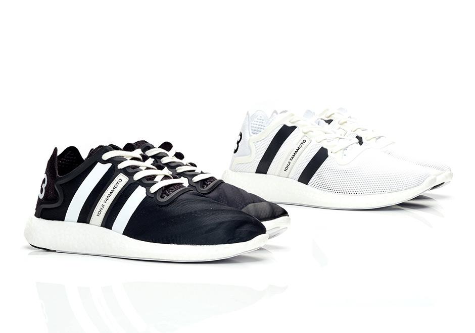 eb13e9a4717bdb adidas Y-3 Yohji Run White Black S82117 S82118