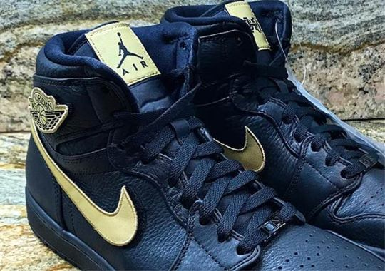 """Air Jordan 1 """"BHM"""" To Feature Removable Velcro Patches"""