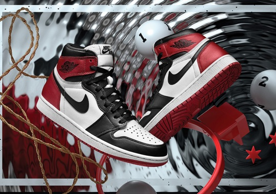 "Air Jordan 1 ""Black Toe"" Restocking On Nike SNKRS Japan"