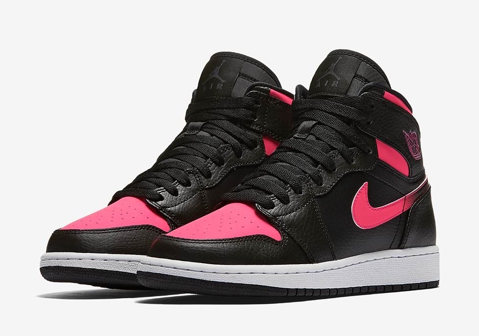 big sale bd456 d2e11 Air Jordan 1 GG Black Pink Detailed Photos   SneakerNews.com