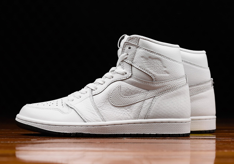 lowest price 7c121 679fe ... 4th, 2017 160. Color Air Jordan 1 Perforated Yin Yang Pack Two more  simple looks perfect for everyday wear are arriving this weekend for the Air  Jordan ...