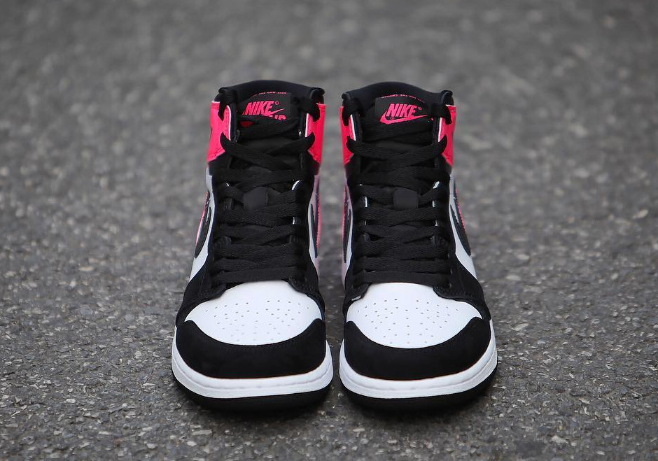 Air Jordan 1 Gg Black Pink Valentine S Day 2017 Sneakernews Com
