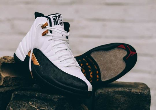 """The Air Jordan 12 """"Chinese New Year"""" Is Releasing This Saturday In Europe"""