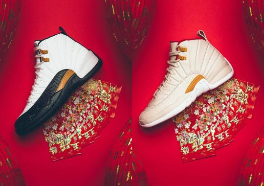 """Where To Buy The Air Jordan 12 """"Chinese New Year"""""""