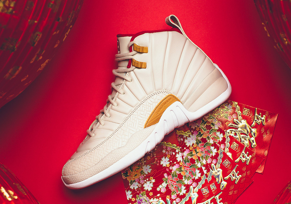 premium selection 05b0b d41a6 air-jordan-12-gg-chinese-new-year-02
