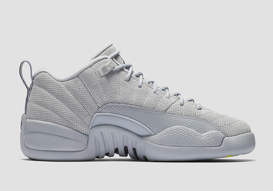 the best attitude c7dfc 48565 Air Jordan 12 Low Wolf Grey 2017 Release Date | SneakerNews.com