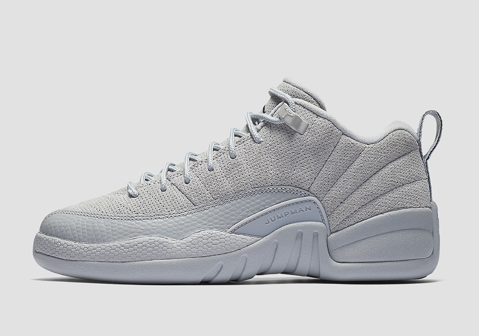"online retailer a71aa 69af5 Air Jordan 12 Low ""Wolf Grey"" Releases In March"