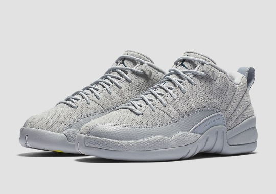 "Air Jordan 12 Low ""Wolf Grey"" Releases In March"