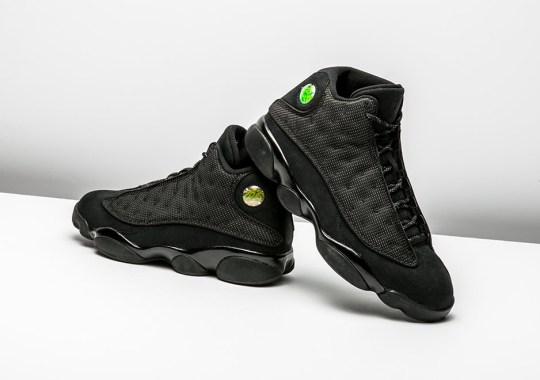 "8307e5ce6bf3ce The ""Black Cat"" Air Jordan 13 Pounces Later This Month"