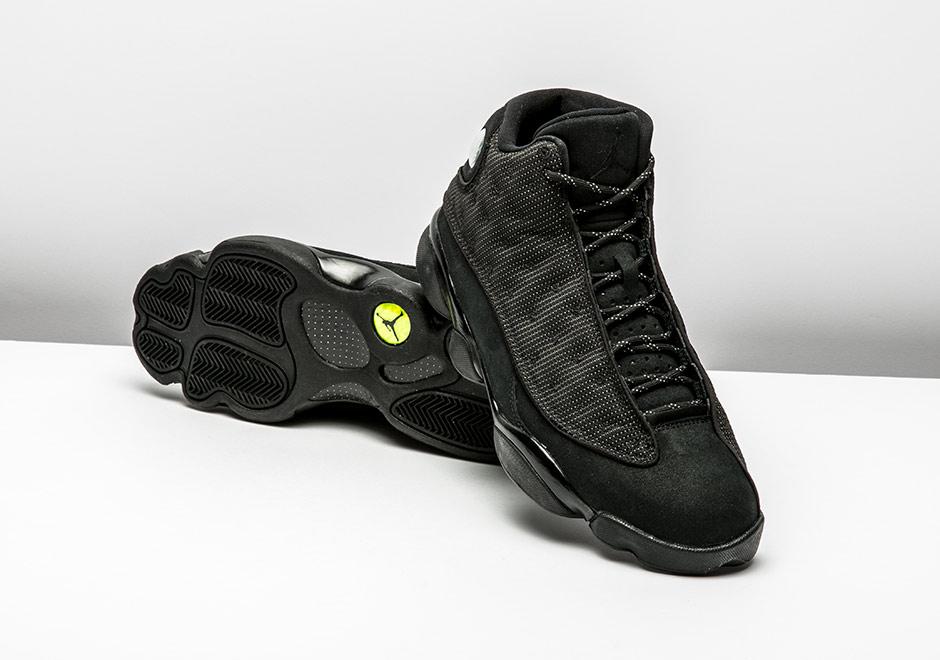 Air Jordan 13 Black Cat Release Info  a2f5e9701