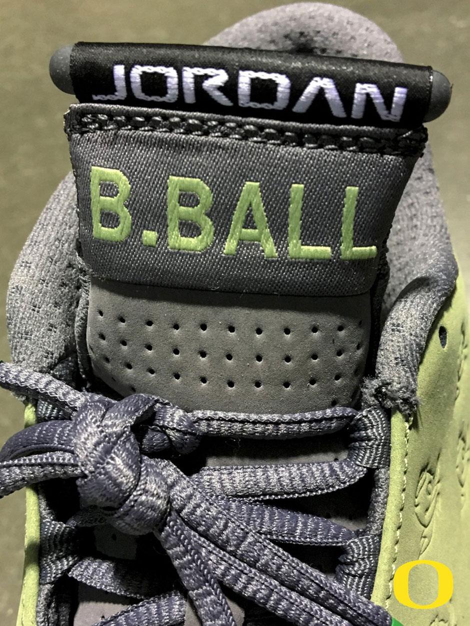 new concept e45bd b9f7d Air Jordan 14 Oregon Basketball PE Green   SneakerNews.com