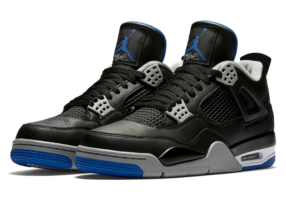 "quality design a35bd 71b14 Air Jordan 4 ""Black Royal"" Releases In June"