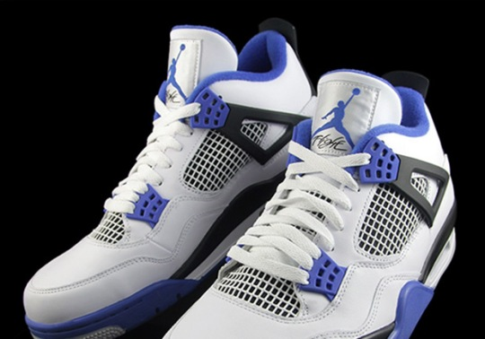 "The Air Jordan 4 ""Motorsports"" Is Releasing This March"