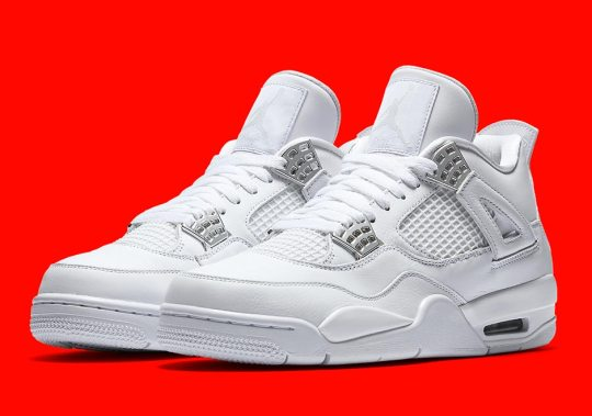 "Air Jordan 4 ""Pure Money"" Is Releasing This May"