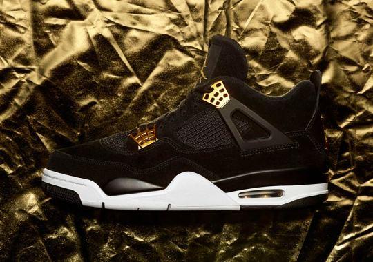 "Where To Buy The Air Jordan 4 ""Royalty"""