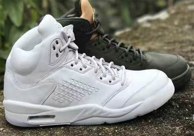 """ab0c4d71cd07 Another Look At The Leather Air Jordan 5 """"Pure Money"""""""