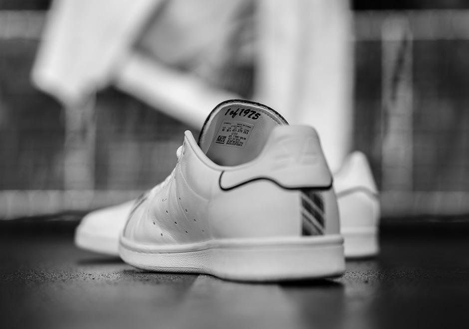 best cheap f5ad3 ad206 Arthur Ashe adidas Stan Smith BHM   SneakerNews.com