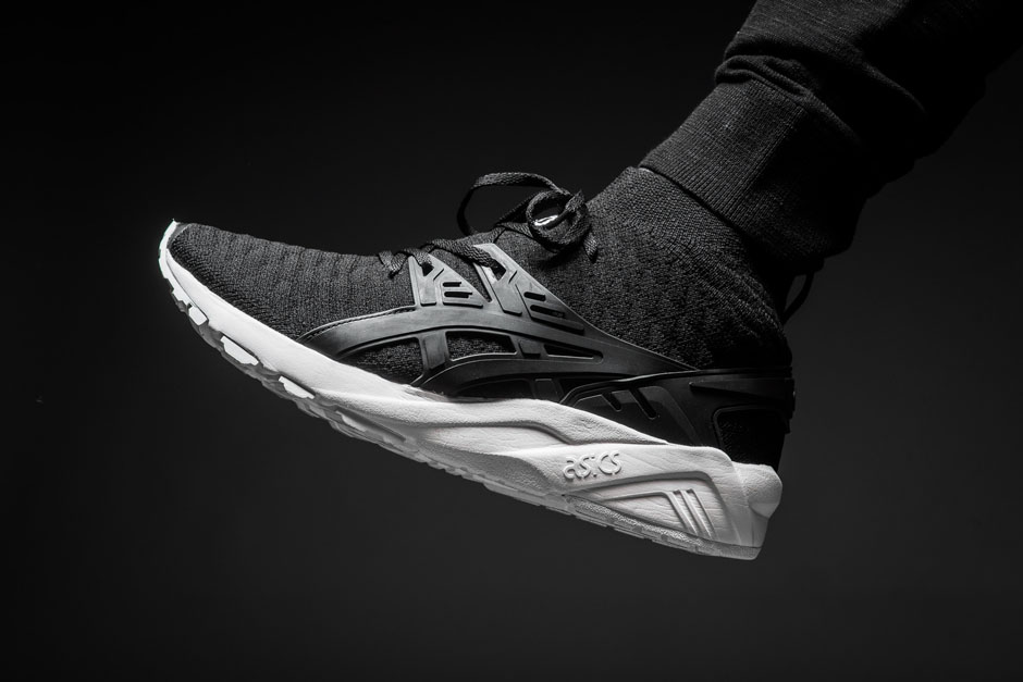 asics running gel kayano trainer knit