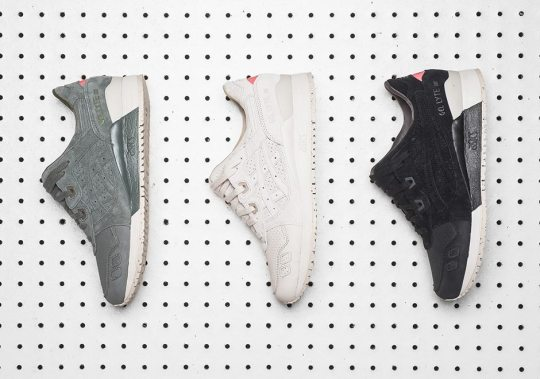 """ASICS GEL-Lyte III """"Perforated Pack"""" In Three Colors"""